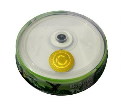 Banana large capacity can print CD DVD+R DL 8.5 GB 8x 12CM can print blank disc 10PCS/LOT(China (Mainland))