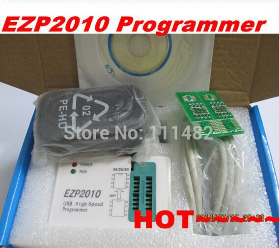 product Free  Shipping EZP2010 high-speed USB SPI Programmer support24 25 93 EEPROM 25 flash bios chip