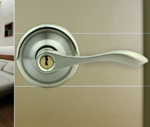 New Arrival Stainless Steel Door Locks Interior Bedroom Door Handle Locks Woo