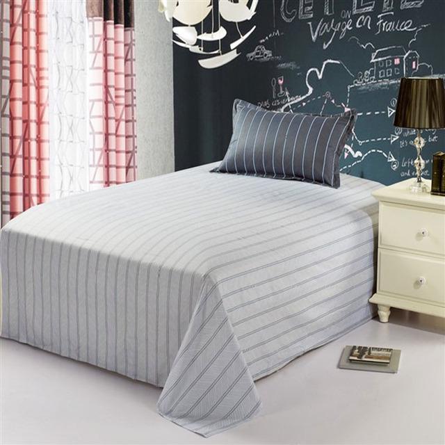 Textile cotton 100% 1.2 meters single sheet separate bed sheets cotton 100% laguan