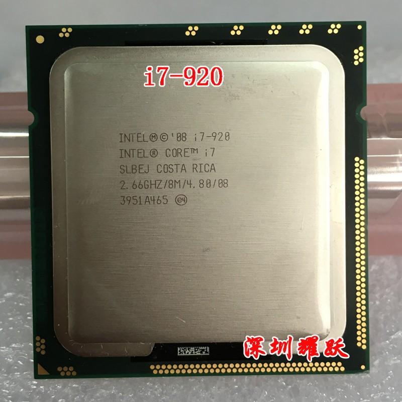 Intel Core i7 920 i7-920 Processor (8M Cache, 2.66 GHz, 4.80 GT/s Intel QPI) SLBEJ DO LGA1366 Desktop CPU(China (Mainland))