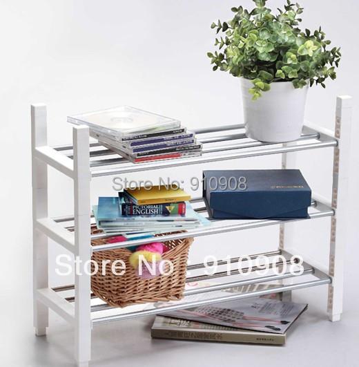 3 Layer Bedroom Shelves Storage Rack Shoes Rack Vase Magazine Storage Rack(China (Mainland))
