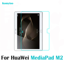 Premium 0.3mm Explosion-proof Tempered Glass 9.6 inch Huawei Mediapad T1 10 T1-A21W M1 8.0 M2 10.0 Tablet Protector Guard Film - Komytoo Store store