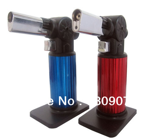 Portable gas torch cake baking Chef pudding Blowtorch Jet Flame Torch Cooking tin Soldering Automatic metal lighter freeshipping