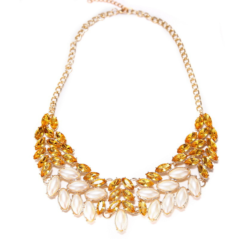Big jewelry detonation model Europe and the United States ruili delicate necklace Fashion accessories wholesale(China (Mainland))
