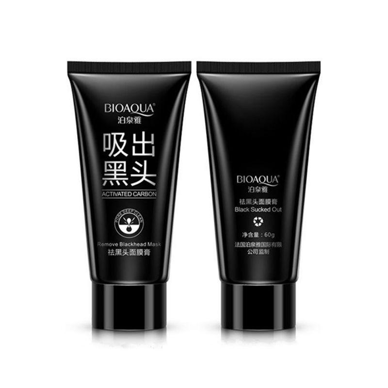 Black Head Acne Treatments Face Care Suction Mask Nose Blackhead Remover Peeling Peel Off Facial Mask(China (Mainland))