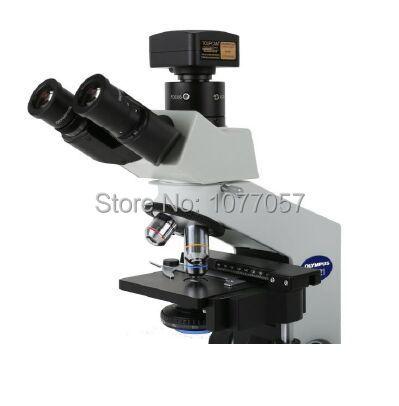 Free shipping,1.3MP USB2.0 Professional microscope digital camera W/C mount , support windows XP/Vista/W7/W8/MAC
