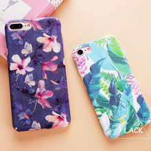 Buy LACK Colorful Flower Plants Leaves Case For iphone 8 Case Cute Cartoon Cat Leaf Back Cover Phone Cases For iphone 7 7PLus 8 Plus for $2.12 in AliExpress store