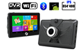 New 4 5 inch Android Car GPS Navigation dvrs Camera Recorder gps Navigator WIFI Tablet PC