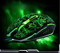 Mosunx Advanced Mouse Professional Led Colorful Backlight 4000DPI Optical Wired Gaming Mouse Mice 2017 Tablets 1PC