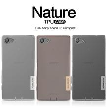 TPU Case For Sony Xperia Z5 Compact Nillkin Nature Series Z5 Mini /Sony Z5 Compact Back Cover Case(China (Mainland))