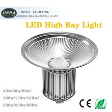 Buy 100W Integrated LED Industrial Lighting High Bay Light Lamp Warehouse Ceiling Factory Floor Lighting LED Mining White for $375.00 in AliExpress store