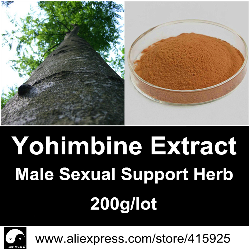 Real Yohimbe Bark Extract Powder Natural Mens Sexual Health Products Herbal Viagra Male Sex Dietary Supplements<br><br>Aliexpress
