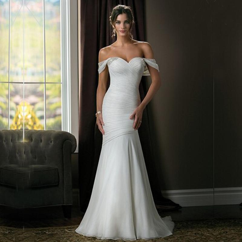 Buy 2015 sexy sheath chiffon wedding for Sexy sheath wedding dress