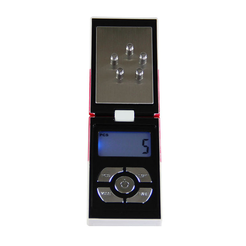 ถูก 200กรัมx 0.01กรัมขนาดเล็กP Ocketอิเล็กทรอนิกส์ชั่งดิจิตอลเครื่องประดับเพชรขนาดบุหรี่ทองออกแบบกล่องน้ำหนักสมดุล