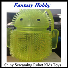 Funny Baby Toy Shiny Screaming Massage Ball Robot Baby Toys scream queen Educational Toy(China (Mainland))