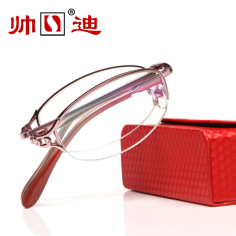 folding presbyopic glasses men and women fashion ultra light anti fatigue portable resin presbyopic glasses female(China (Mainland))