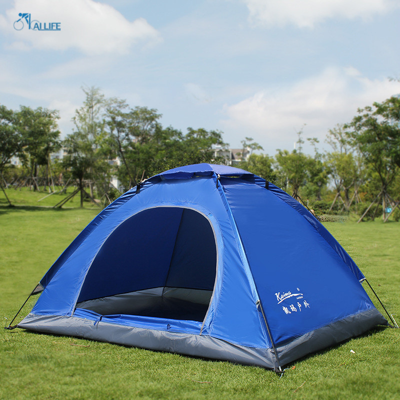 Good Quality Fashion Outdoor Double Layer Camping Tents Waterproof Breathable Leisure Camping Tents(China (Mainland))