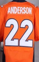100% Stitched Elite Peyton Manning 58 Von Miller 10 Emmanuel Sanders 12 Paxton Lynch white orange blue 100% Stitiched jersey(China (Mainland))