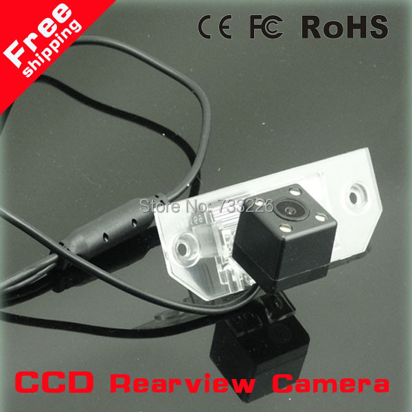 """Free shipping CCD 1/3"""" Car Rear view Parking Back Up Reversing Camera For Ford Focus Sedan (2) (3)/08/10 For Focus Night vision(China (Mainland))"""