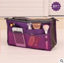 Travel accessories organizer makeup bag nylon light beauty(China (Mainland))