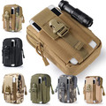 Tactical Molle Pouch Belt Waist Packs Bag Pocket Military Waist Fanny Pack Pocket for Iphone 6