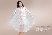 poncho rain raincoat waterproof coat dress jacket font b Burberry b font Female Translucent sleeved cap