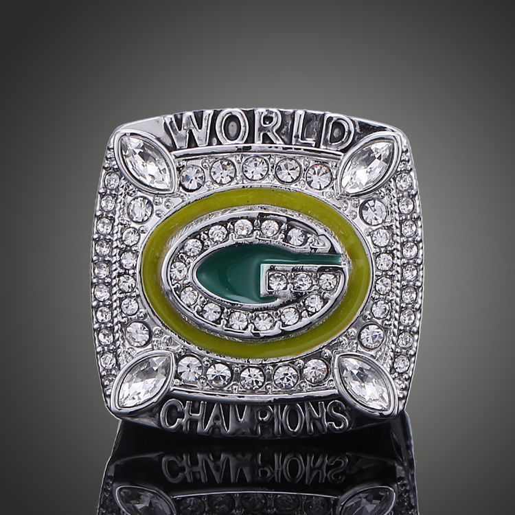 New Fashion Wisconsin Green Bay Packers Super Bowl Rings Elite QB Aaron Rodgers MVP Sports Replica Championship Ring(China (Mainland))