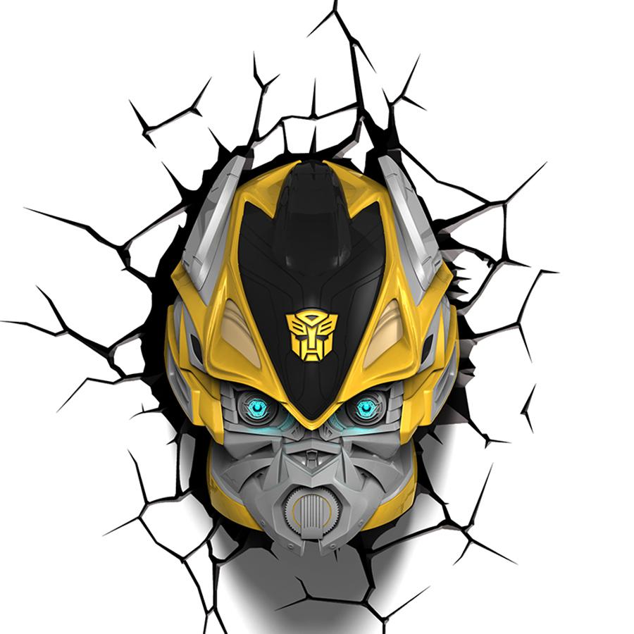 Dreammaster 3D Wall Lamp Transformers Optimus Prime