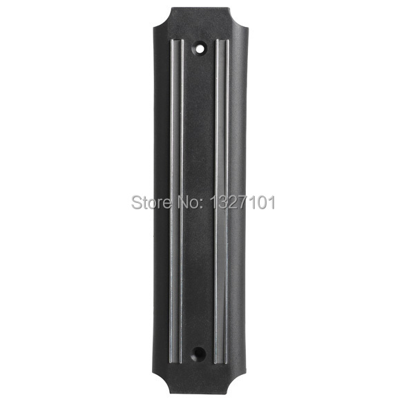 High quality Strong Magnetic Knife Tool Rest Shelf for Kitchen Pub Bar Counter BlackJT1O PTCT hot sale free shipping(China (Mainland))
