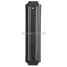 High quality Strong Magnetic Knife Tool Rest Shelf for Kitchen Pub Bar Counter BlackJT1O PTCT hot sale free shipping (China (Mainland))