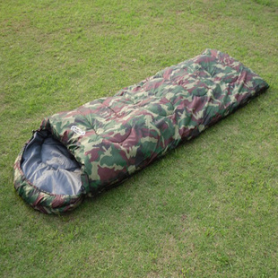 Spring thick camouflage sleeping bag adult sleeping bags outdoor camping sleeping bag sleeping bags cotton sleeping bag lunch