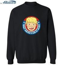 Buy Alimoo USA Election Campaign Vote Donald Trump Sweatshirt Men Streetwear USA Mens Hoodies Sweatshirts Hip Hop 4XL for $14.45 in AliExpress store