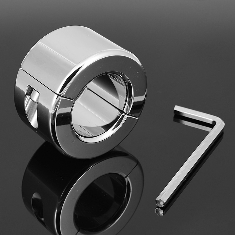 Free shipping,adult product,stainless steel scrotum ring,metal KB cock ring,sex toy penis ring for men,38 mm diameter(China (Mainland))