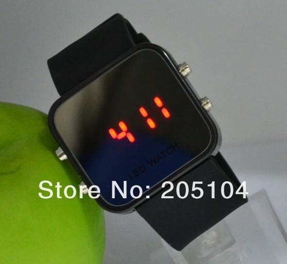 2017 Fashion Lovers Led Watch Men Women Reflective Mirror Sports Digital Watches Rubber Unisex Watch reloj mujer reloj homre