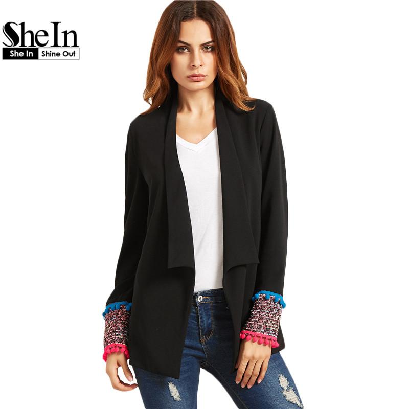 online kaufen gro handel tweed damen blazer aus china. Black Bedroom Furniture Sets. Home Design Ideas