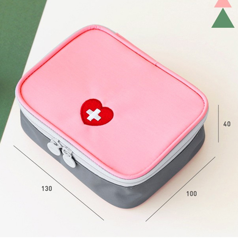 Brand new Travel Necessary Storage bag Emergency Home First Aid Kit Treatment Pack Outdoor Portable Mini Medical Survival Bag(China (Mainland))