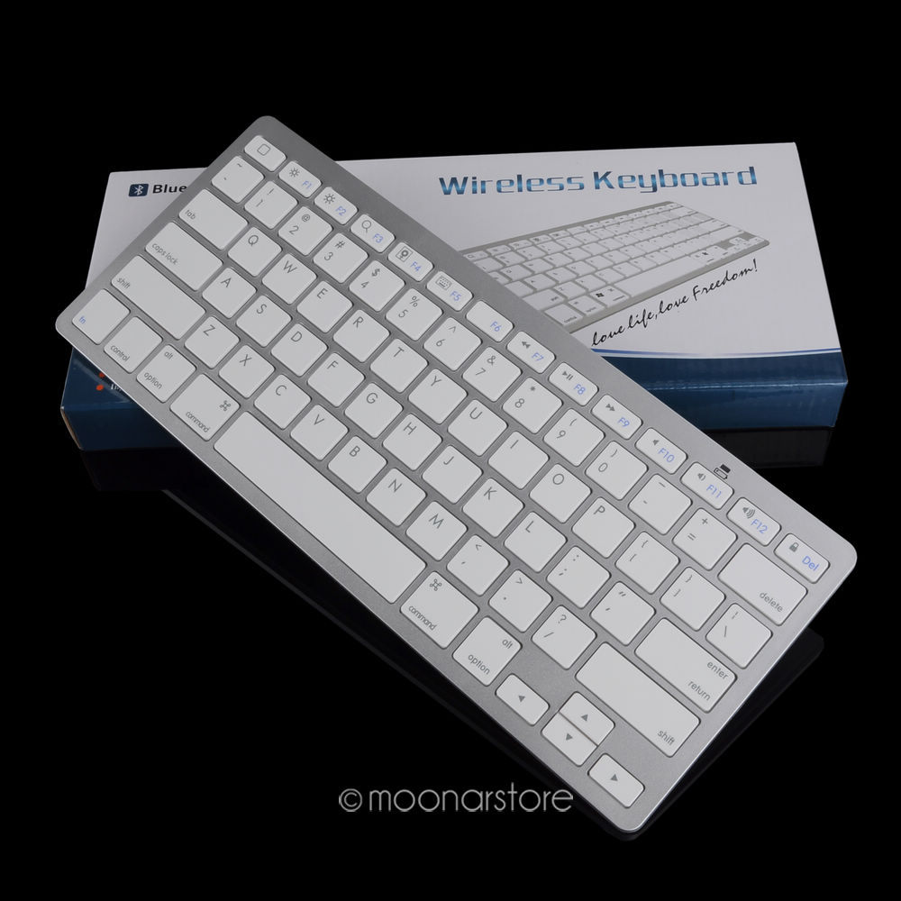 1 Piece Ultra-slim Wireless Keyboard Bluetooth For Apple iPad Series/Mac Book Computer(China (Mainland))