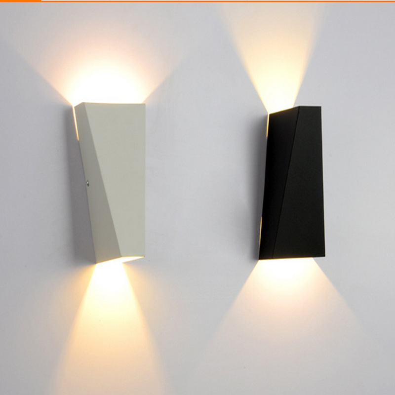 6W LED light Fashion metal wall lamp indoor wall lighting bedside lamps bedroom light warm white Interior decoration linghting(China (Mainland))