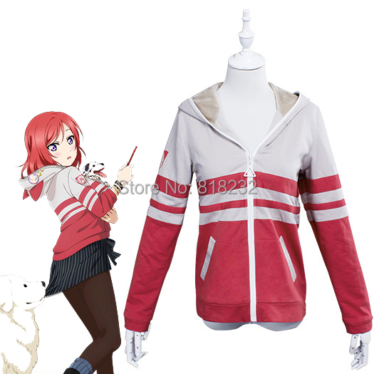 LoveLive! Love Live Nishikino Maki Animal Hoody Hoodie Sweater Coat Outwear Outfit Cosplay CostumesОдежда и ак�е��уары<br><br><br>Aliexpress
