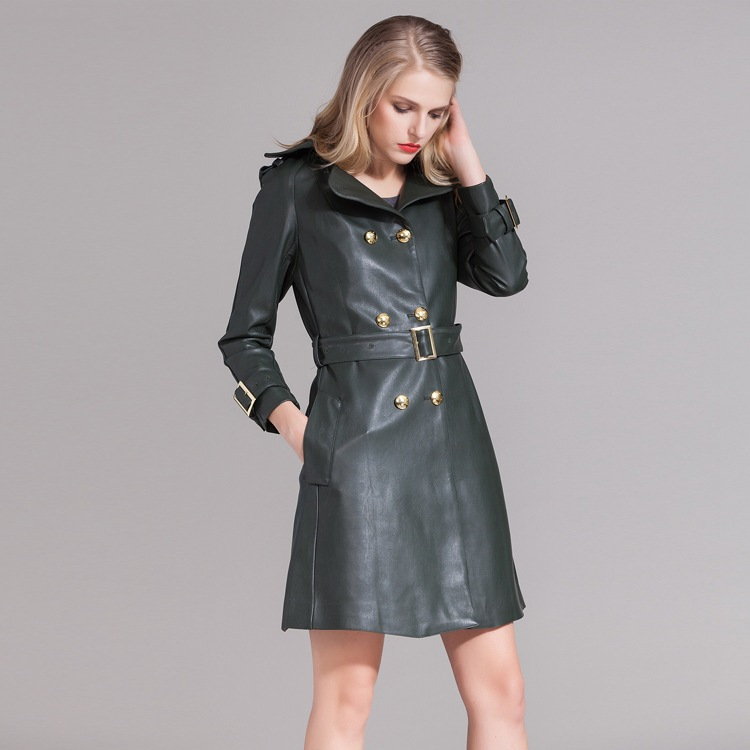 Long Leather Coats