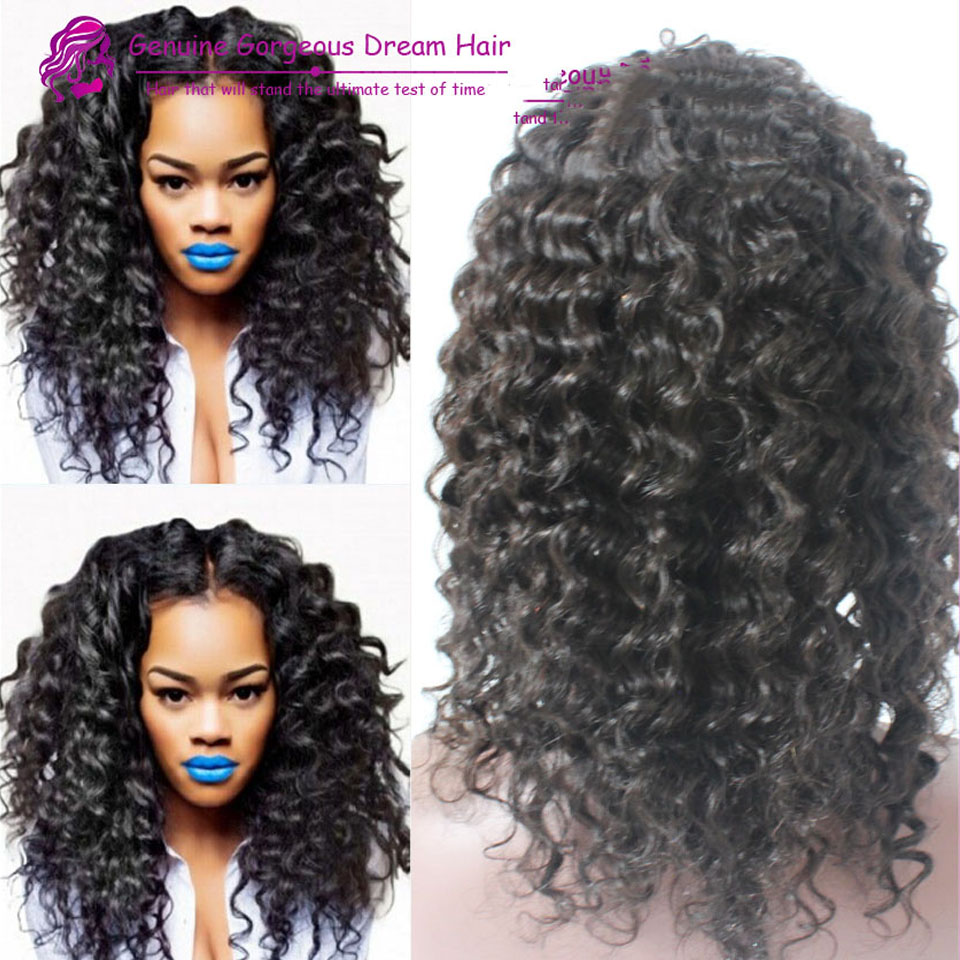 Top quality wholesale price long human remy hair 180density afro kinky curly glueless full lace brazilian curly lace wig<br><br>Aliexpress