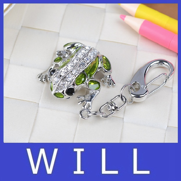 sliver diamond frog USB flash drive U disk Genuine Capacity 8GB 16GB 32GB 64GB Gift Jewelry pen drive pendrive menmory stick(China (Mainland))