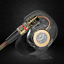 KZ ATE 3.5mm in ear Earphone Sport running HIFI Metal earphones Super Bass Noise Isolating earbuds Copper Driver(China (Mainland))