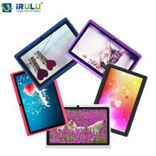 IRULU  eXpro Brand 7″ Tablet PC Android 4.2 8GB ROM Dual Core   Dual Camera OTG USB 3G WIFI Multi-colors Free Cheapest Hot