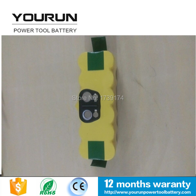 Rechargeable Batteries for 14.4V 3.0Ah ni-mh iRobot Roomba 500 610 Series 530 510 532 550 540 80501 R3(China (Mainland))