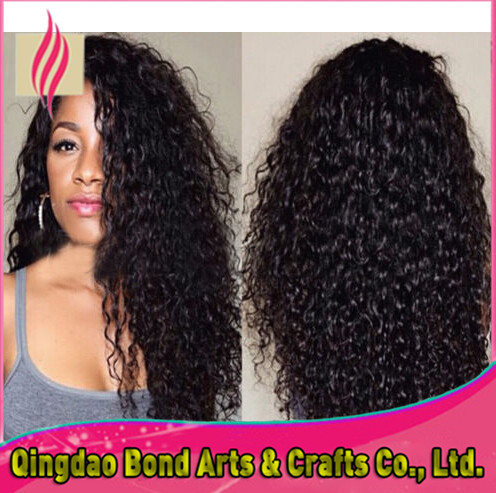 Full lace human hair wigs for black women kinky curl full lace wigs human hair front lace wigs 130%density free shipping<br><br>Aliexpress