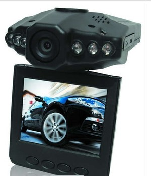"""Aliexpress Clearance Sale H198 Car DVR Video Registrar with 90 Degree View Angle 2.5"""" LCD 6 IR LED Night Vision DVR Car Camera"""