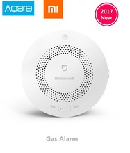 Buy Xiaomi Honeywell Gas Alarm Detector, Aqara Zigbee Remote Control CH4 Monitoring Ceiling&Wall Mounted Easy Install Work Mijia APP for $34.84 in AliExpress store