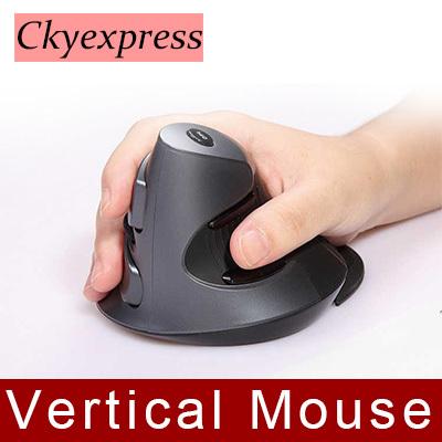 Wireless Mouse 2.4GHz Ergonomic Design Vertical mouse1600DPI JOY Wrist Pain Computer USB Mice For Laptop PC Notebook(China (Mainland))